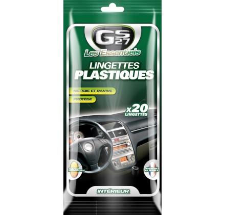 Lingettes Plastiques 20 units LES ESSENTIELS