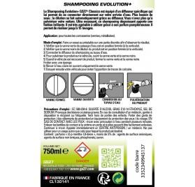 CLASSICS Shampooing Ultra moussant 750ml avec diffuseur